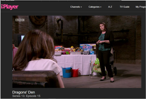 PictureMum2mum market on Dragons Den Series 13 Episode 15